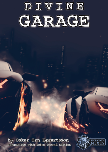 New on DriveThruRPG!!  The DIVINE GARAGE is out now for Scion Second Edition! A collection of vehicles to start your vehicular action 👍 #ScionRPG #Scion2e #StoryPathNexus #DivineGarage #ttrpg   Link in a comment below 👇 https://t.co/2uHM5m7mFY