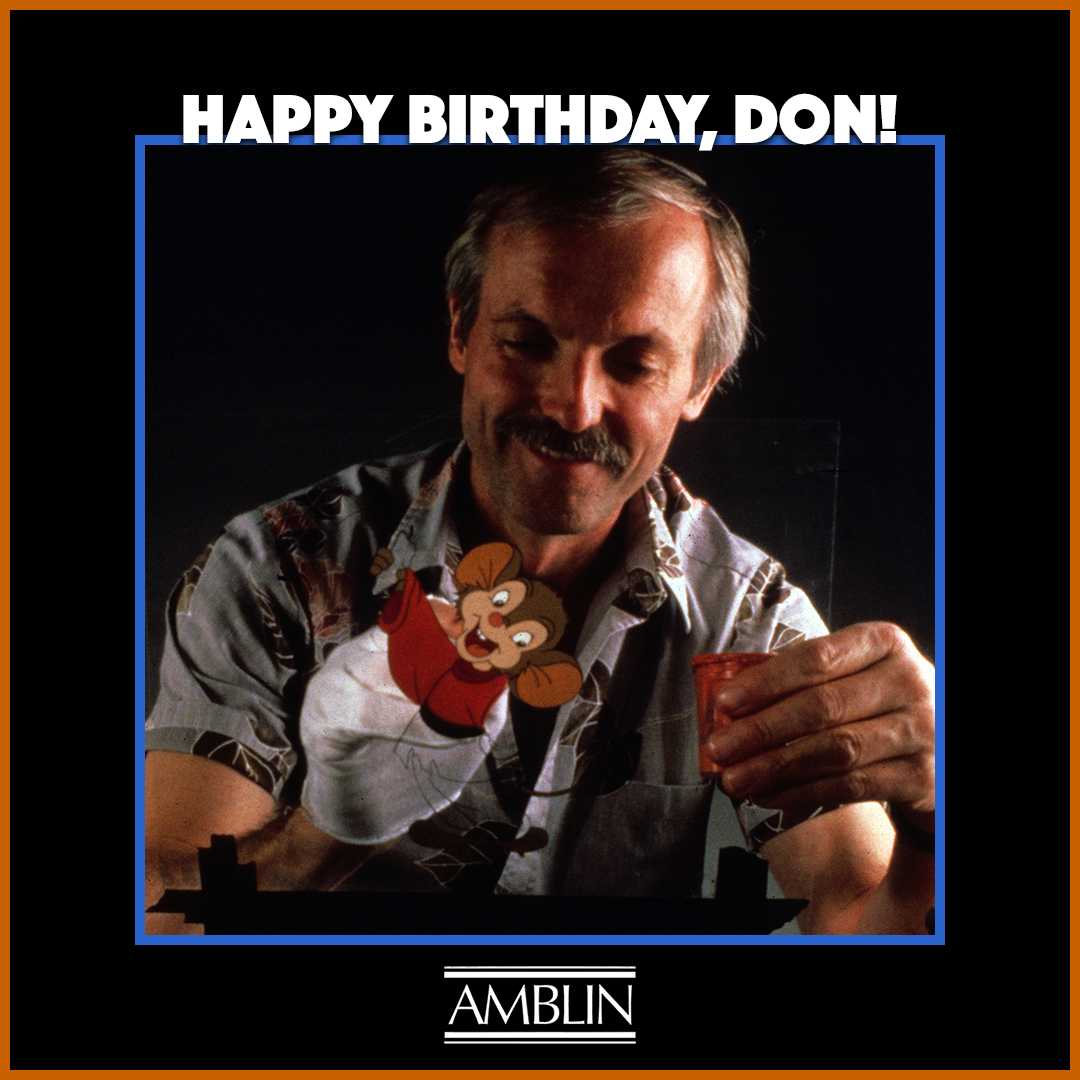 Happy birthday to @DonBluth, that master magician of the animated image who brought to life the beloved features AN AMERICAN TAIL and THE LAND BEFORE TIME for Amblin Entertainment.  #DonBluth #Animation #TraditionalAnimation #AnAmericanTail #Fievel #TheLandBeforeTime #Amblin https://t.co/ssxaT780kP