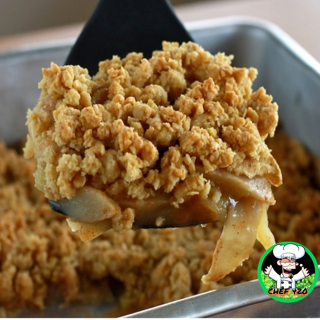 This Tasty Infused Apple Crisp-Chef 420s own, made with sugar substitute is Very easy to make and excellent for Low Sugar menus.    https://t.co/Fat9zPrqVV    #Chef420 #Edibles #Medibles #CookingWithCannabis #CannabisChef #CannabisRecipes #InfusedRecipes https://t.co/ez17E13Dk0