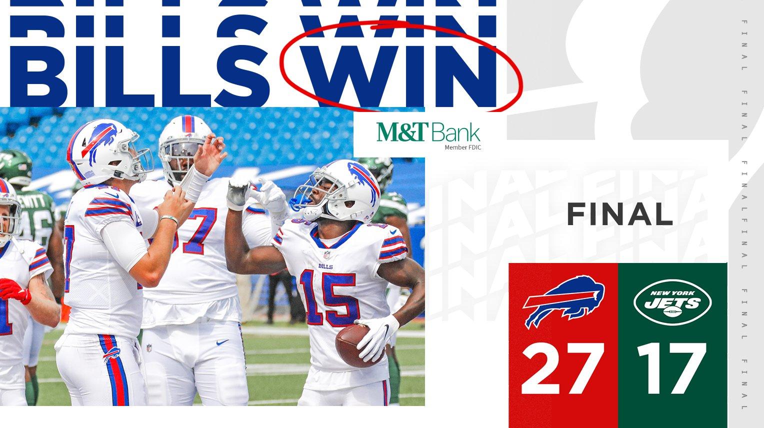 Buffalo Bills On Twitter Bills Win Watch All The Highlights Https T Co 1otdtfp4rt