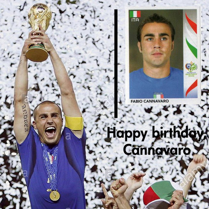 Happy birthday to Fabio Cannavaro!!! Which moment of him is your favorite?