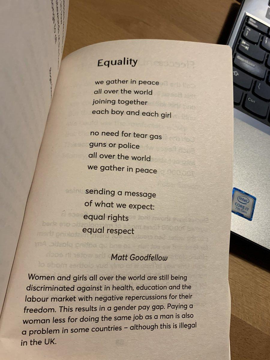 Every Monday I teach a poem. Here's tomorrow's, via @EarlyTrain: