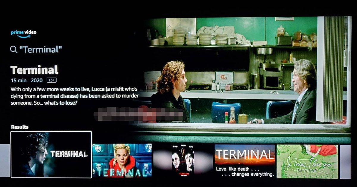 Plan de 15 minutos en domingo: @TerminalMovie película filmada en Los Angeles, escrita y dirigida por este servidor, ya está disponible en @PrimeVideo https://t.co/9hoKksEqY8