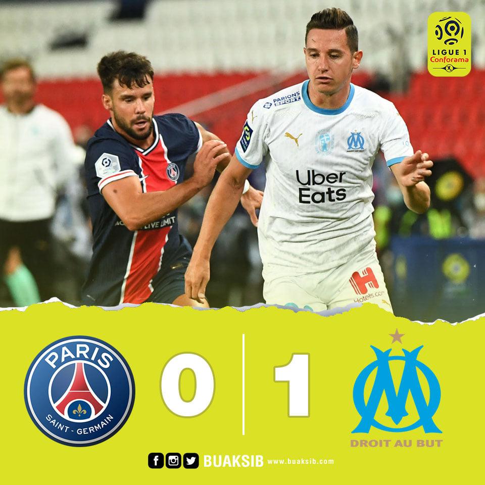 เดือดจัด 5 ใบแดง !! ปารีส แซงต์-แชร์กแมง แพ้คาบ้านต่อ มาร์กเซย 0-1 #เปแอสเช #มาร์กเซย #ลีกเอิง @PSG_inside #PSG @OMarseille_info #Marseille https://t.co/AAEzhXBt9m