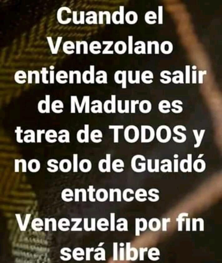 #ChavismoLaPesteDelSigloXXI  #SOSVenezuela  Bendita noche #TuiterosDelMundo Unión y Venezuela de primero, el EGO pal basurero, coronavirus, pestes, plagas, catástrofes y toda la maldad se irá el día q realmente aceptemos q como humanidad vamos por mal camino #MaduroCoñoETuMadre https://t.co/Cvu5P5IFYX