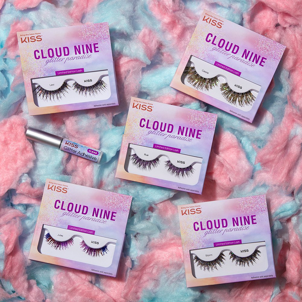 OBSESSING over these LIMITED-EDITION #KISSLashes? WE'RE ALL FOR THE EUPHORIA VIBES | SHOP Cloud Nine glitter paradise lashes available for a limited time only at @ULTABeauty & https://t.co/sNZ2LSb3d0 💜 #KISSProducts #UltaLashes #UltaBeauty #CloudNineLashes #GlitterLashes https://t.co/hEHfSaC2AG