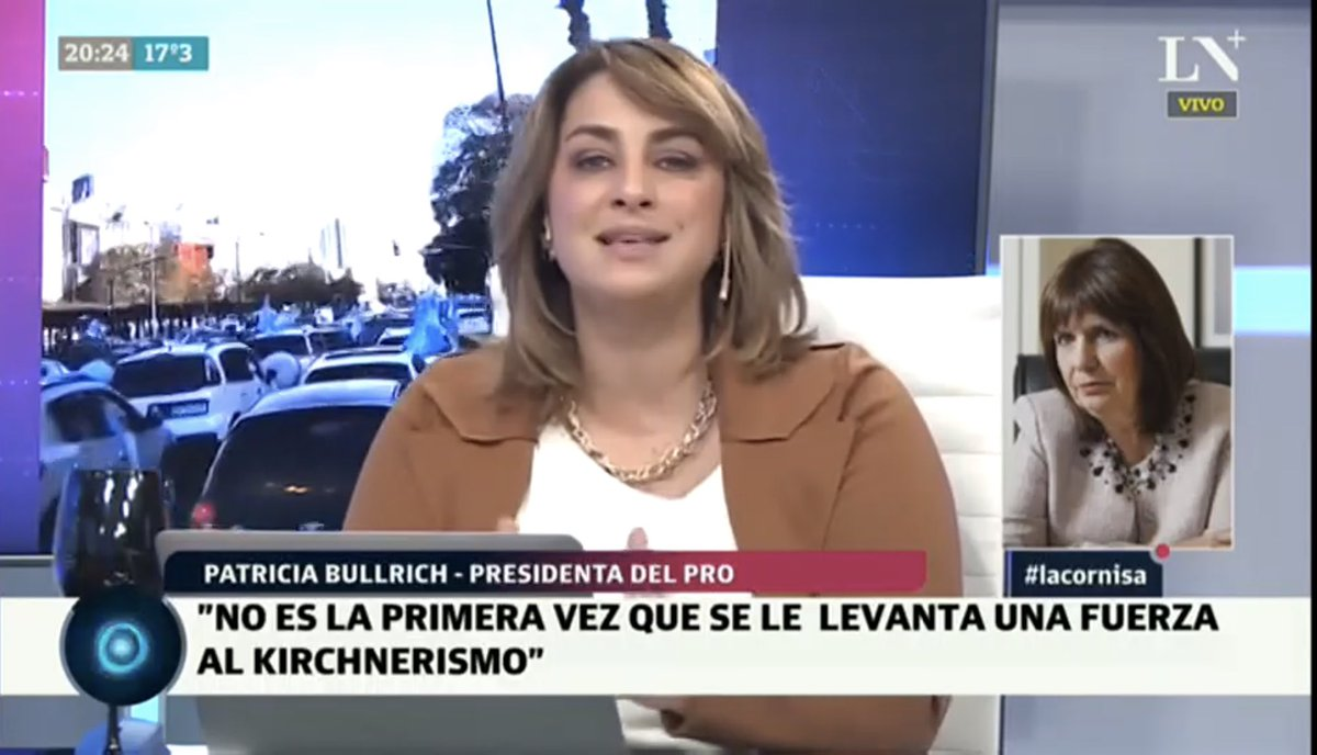 🎙 Picos de 2,2 para @PatoBullrich en @LaCornisaok por @lanacionmas con @majulluis @mjolivan @andahazi @drasmartinez https://t.co/ja8mUU3jr2