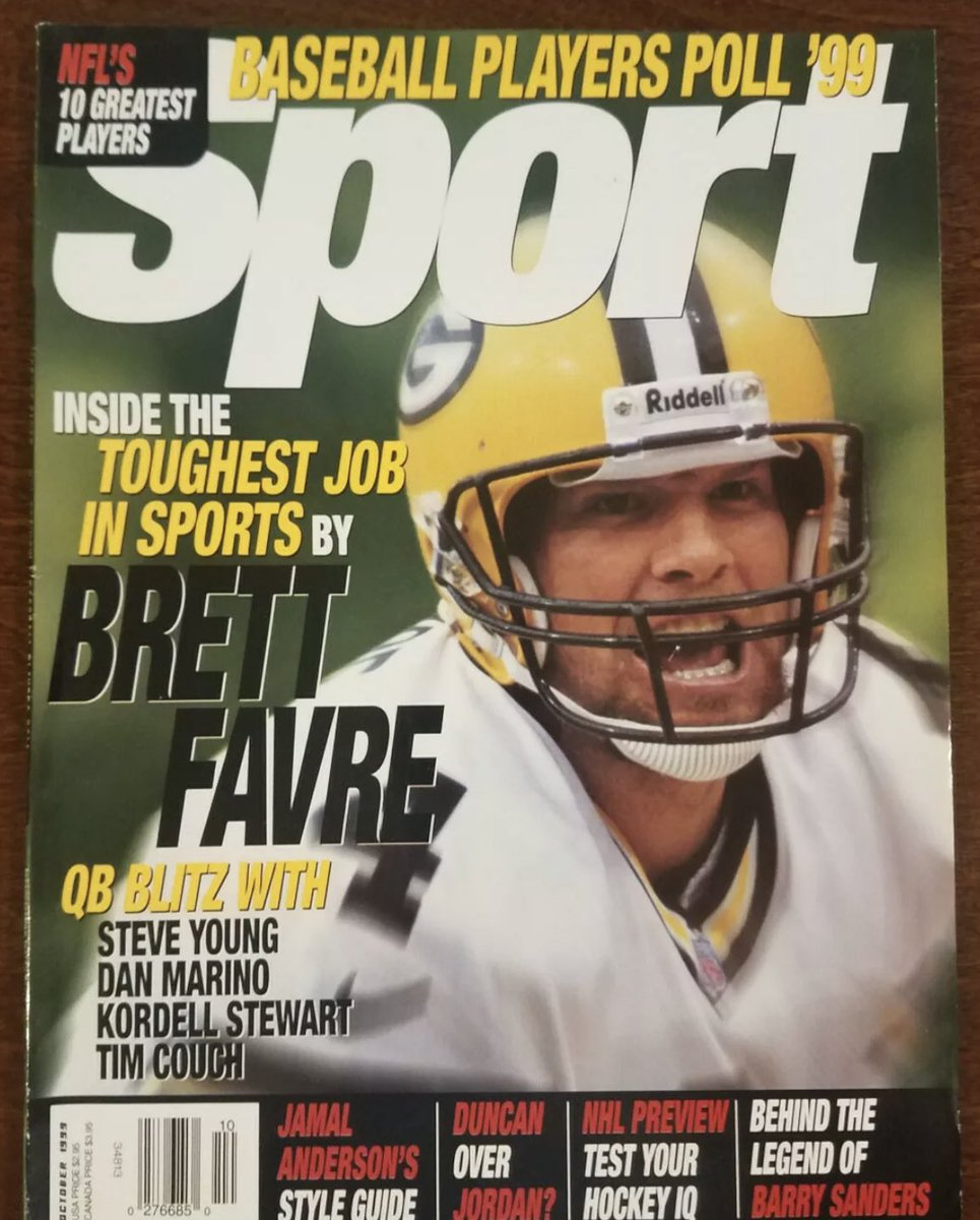 On the newsstand the last time the Patriots won and Tom Brady lost...  October 23, 1999 — Illinois 35, Michigan 29  October 24, 1999 — Patriots 24, Broncos 23 https://t.co/vhpmp2LzC3