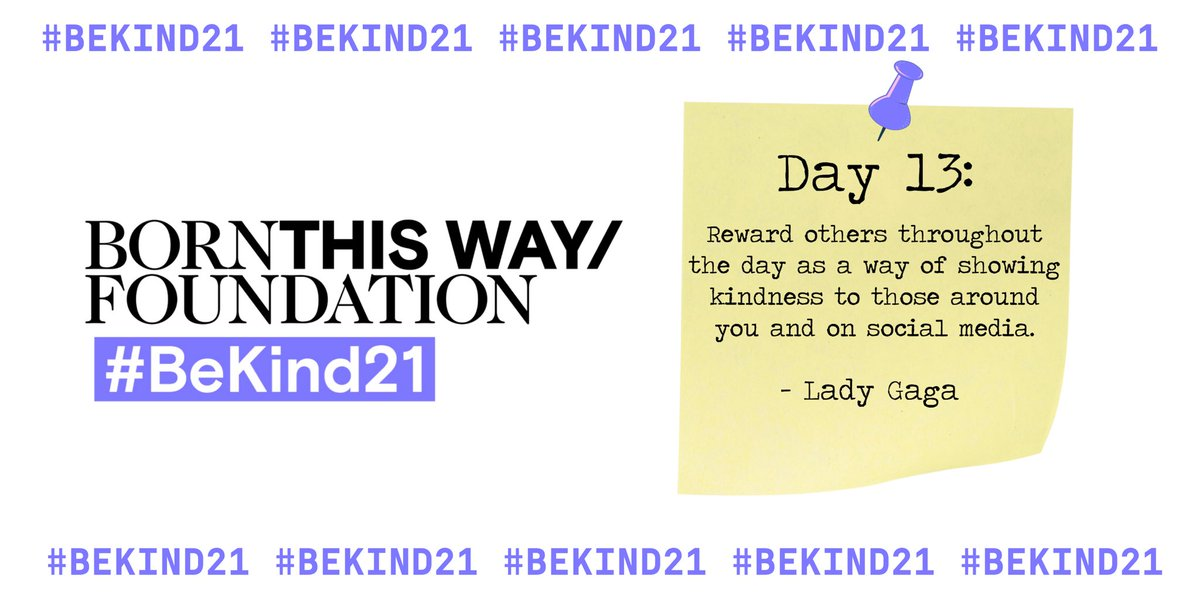 #BeKind21 @BTWFoundation ✨ https://t.co/K41MBbaowz
