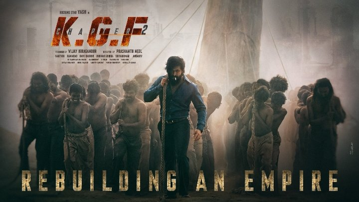 Eagerly waiting to see....... First Look Poster Of #KGFChapter2Fire  #KGFChapter2FirstLook #KGF2FirstLook #1YearForMonsterHitKGF #KGF #Yash.... https://t.co/vkVcrMDF0f