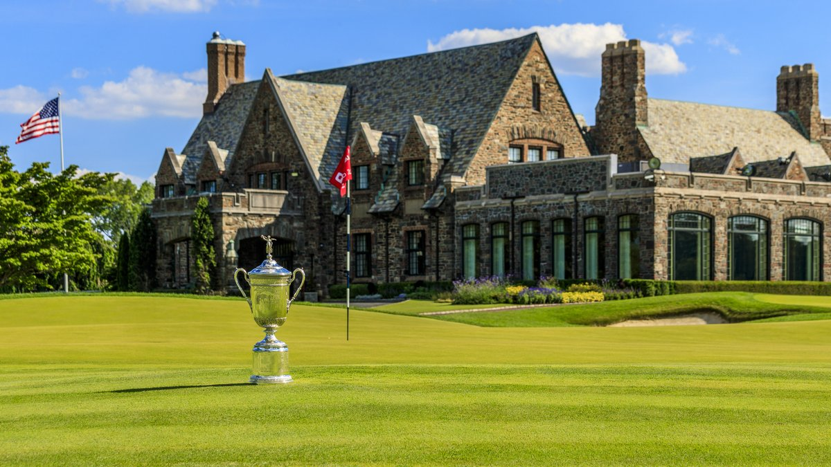 Welcome to Winged Foot.  It's U.S. Open week! ⛳️ 🏆 https://t.co/cvkxkmtWCS