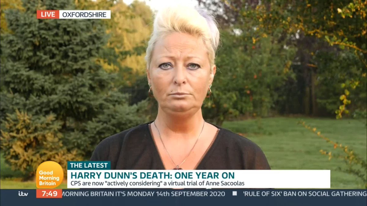 Well keep fighting with you. GMB pledges to support the family of Harry Dunn, who died following a road traffic collision last year, in their fight for justice. Watch GMB with @PiersMorgan and @SusannaReid100 bit.ly/2AUrOCc