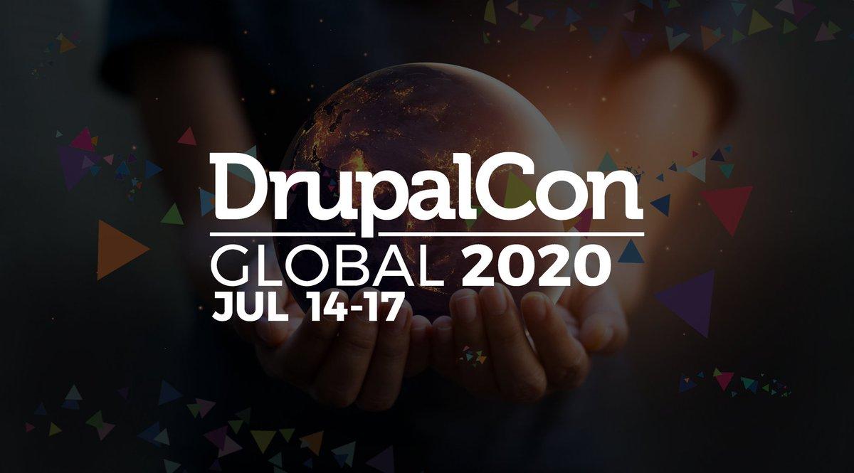 """N'oubliez pas de nous rejoindre ce jeudi 17 septembre à 19h30 pour notre Meetup en ligne """"retours sur la DrupalCon Global 2020"""",  ! #Meetup #DrupalFr #DrupalConGlobal2020  https://t.co/hZRVQAS3TO https://t.co/VsPIQUGkQE"""