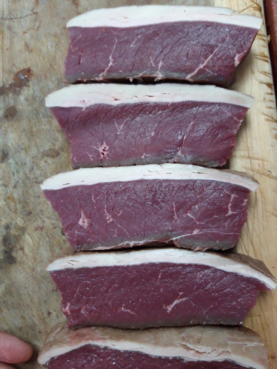 Cracking looking rump steaks #steak #steaknight #carnivorediet #meat #butcher #shoplocal #Otley #Ilkley #Wetherby #Rawdon #Knaresborough #Bramhope #Yorkshire #Leeds #Bradford https://t.co/a9YIJZYNtU