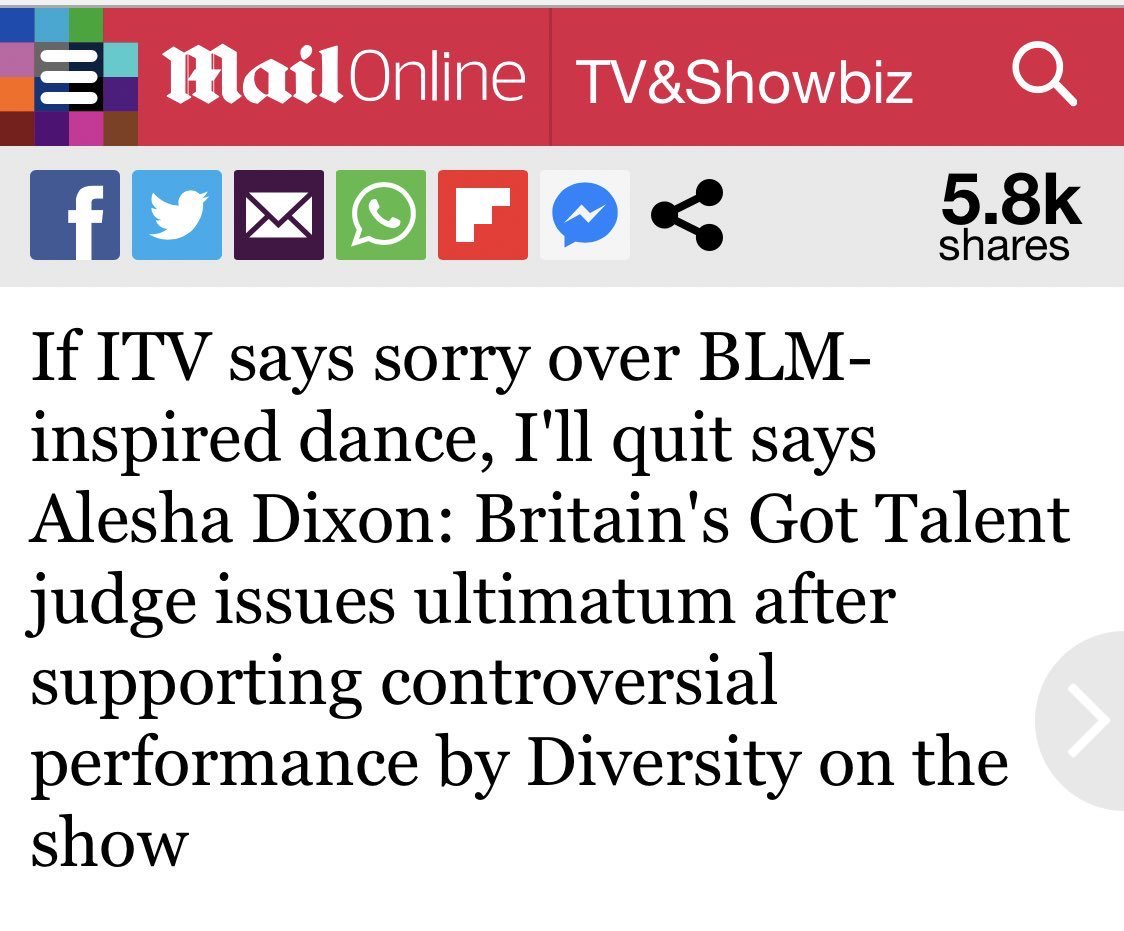 """Ah yes that """"controversial"""" performance, with the """"controversial"""" opinion that we need to end racism... I hate this country https://t.co/Nwd5l2fF2F"""