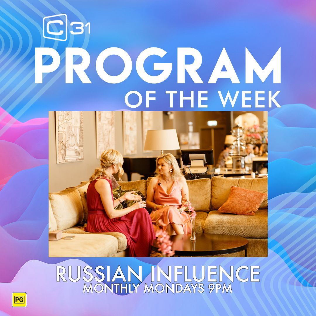 PROGRAM OF THE WEEK - RUSSIAN INFLUENCE We asked host and producer of the show, Elina Reddy a few questions about what makes it work. Read what she had to say over on our Facebook page: https://t.co/CjQbqEE7sk https://t.co/5oldn93AWP