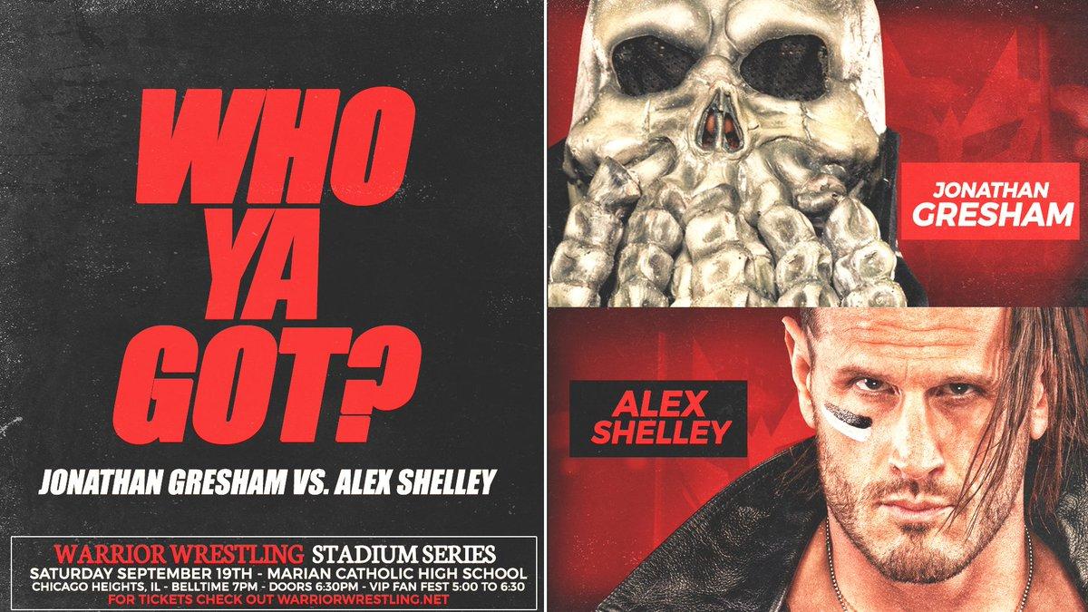 Warrior Wrestling Stadium Series Lineup, Live Coverage Reminder