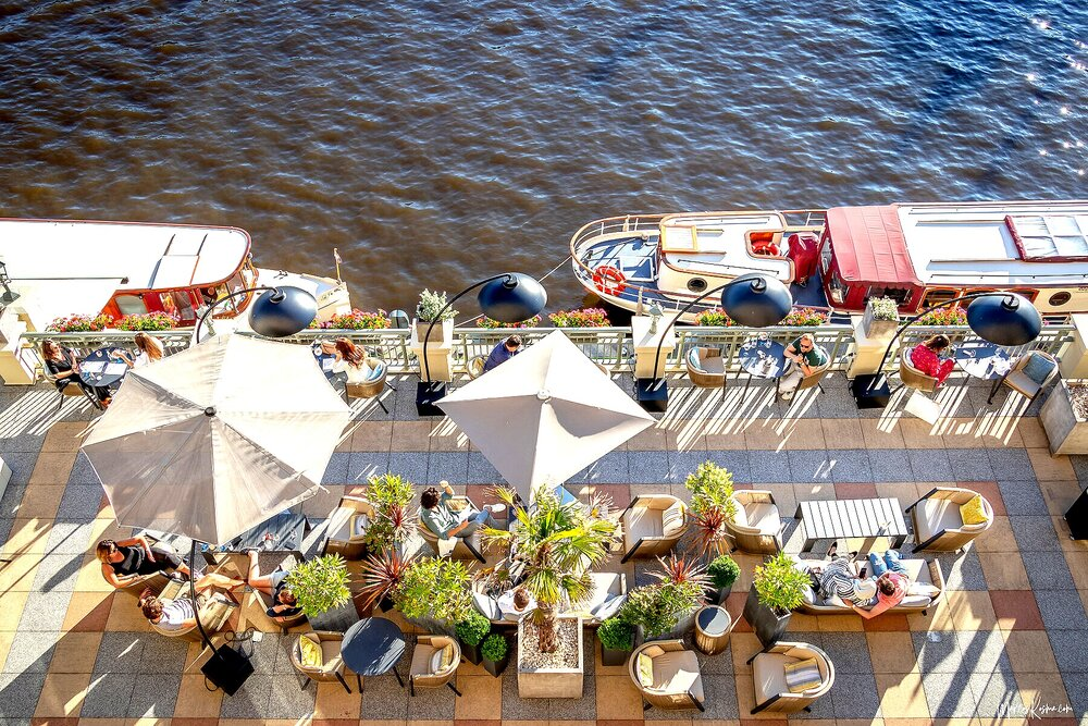 Enjoy the beautiful Indian Summer from our sunny Amstel Bar terrace! https://t.co/zVIOMDqNK6