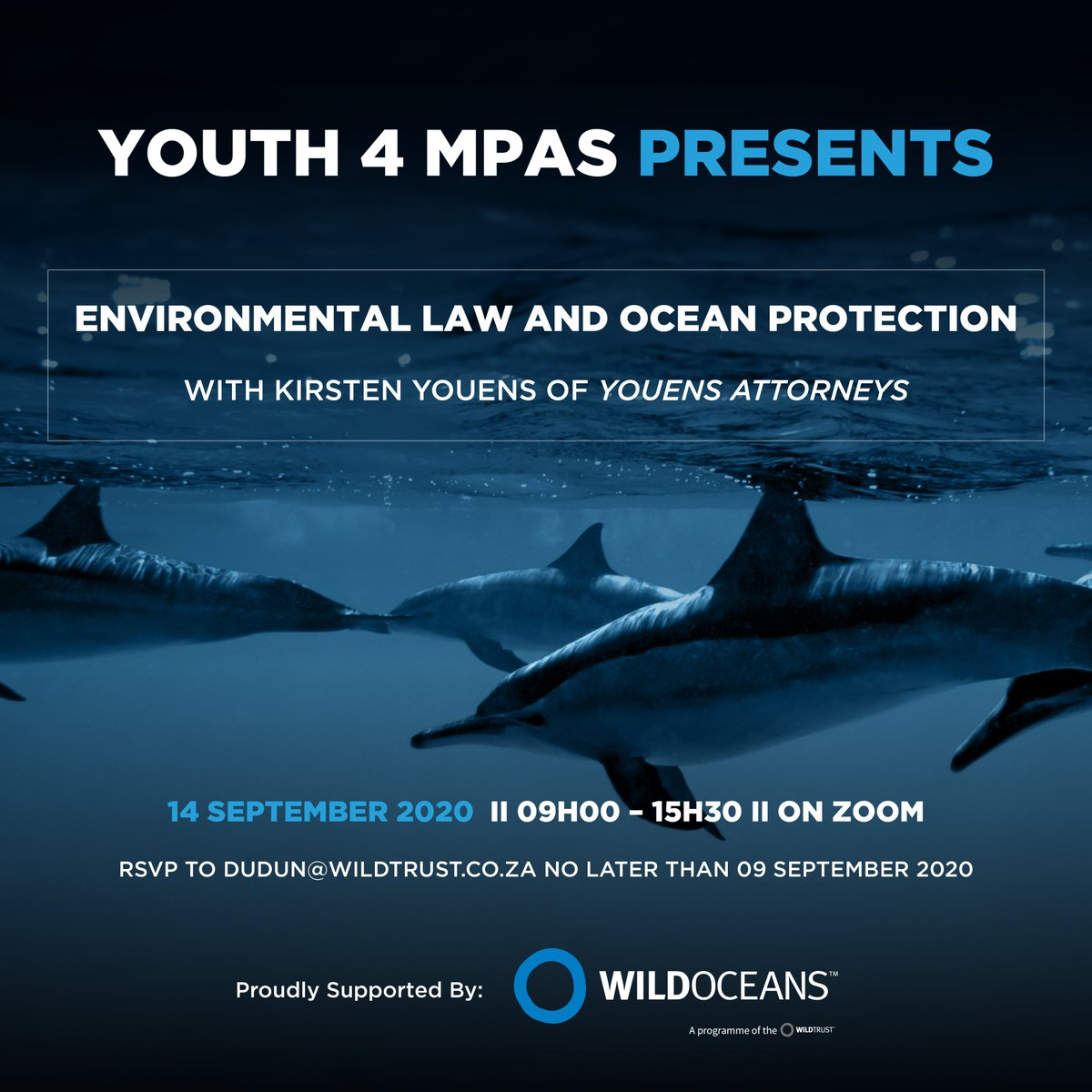 Today we have over 50 youth attending an Environmental Law workshop with Attorney @kirstenyouens and @WILDOCEANSSA.  If you signed up last week, make sure you jump online and get involved. https://t.co/nzJTL84598