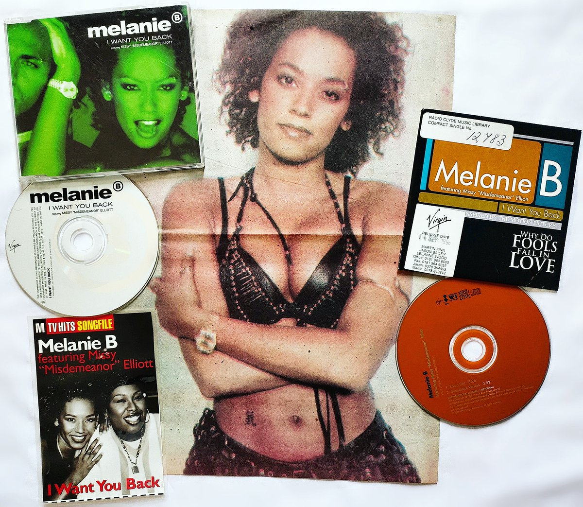 22 Years ago @OfficialMelB release her single 'I Want You Back' Feat. @MissyElliott was released on 14 September 1998! .  #spicegirls https://t.co/OgNgcTvoay