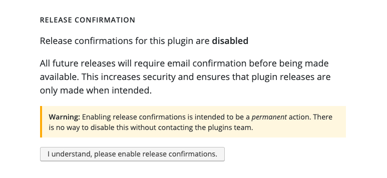 test Twitter Media - Release Confirmation for #WordPress Plugin is live in @WordPress Directory! A committer would be able to click a link in an email triggered by their commit that updated their Stable Tag value. Details: https://t.co/HpRDU5cFas Props: @dd32 https://t.co/DzAOPNigdn