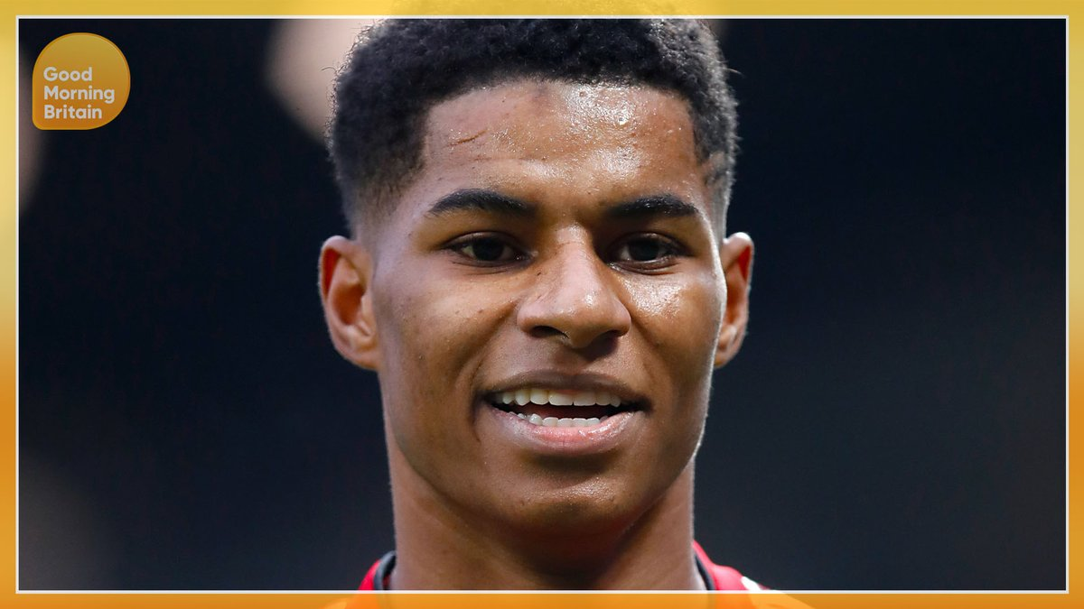 COMING UP: Marcus Rashford The Man Utd star joins us LIVE later this morning 🙌🙌 Watch GMB👉 bit.ly/2MLB661