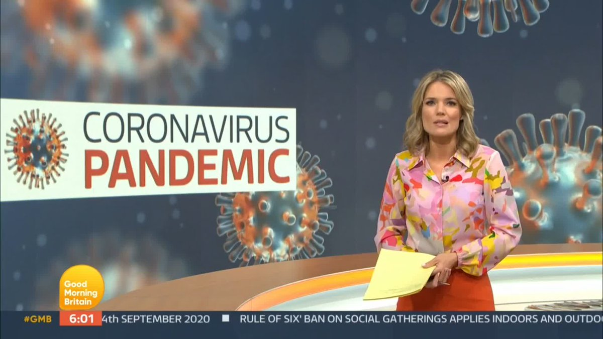 Britain may only be days away from losing control of coronavirus infections amid a surge in cases, according to the governments scientific adviser, Professor Peter Openshaw, who is calling for immediate action. Watch GMB: bit.ly/2MLB661