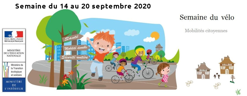 Démarrage de la semaine du vélo. Une occasion de mobiliser les élèves sur la mobilité dite douce. #ODD3, #ODD11 https://t.co/1ykNsNDjkN https://t.co/su6jrj7MrN