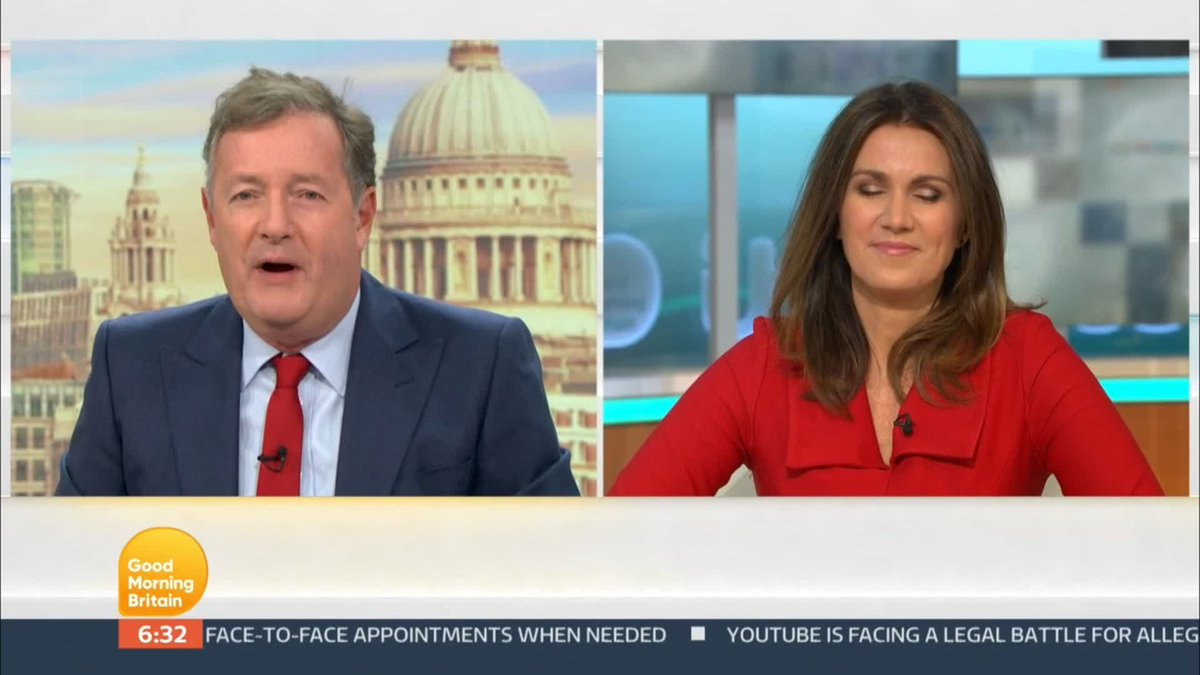 The correct meterological term for 30C in Autumn is VERY WARM Thank you @LauraTobin1 🤓 @PiersMorgan and @SusannaReid100 - we just call it hot hot hot, right!?