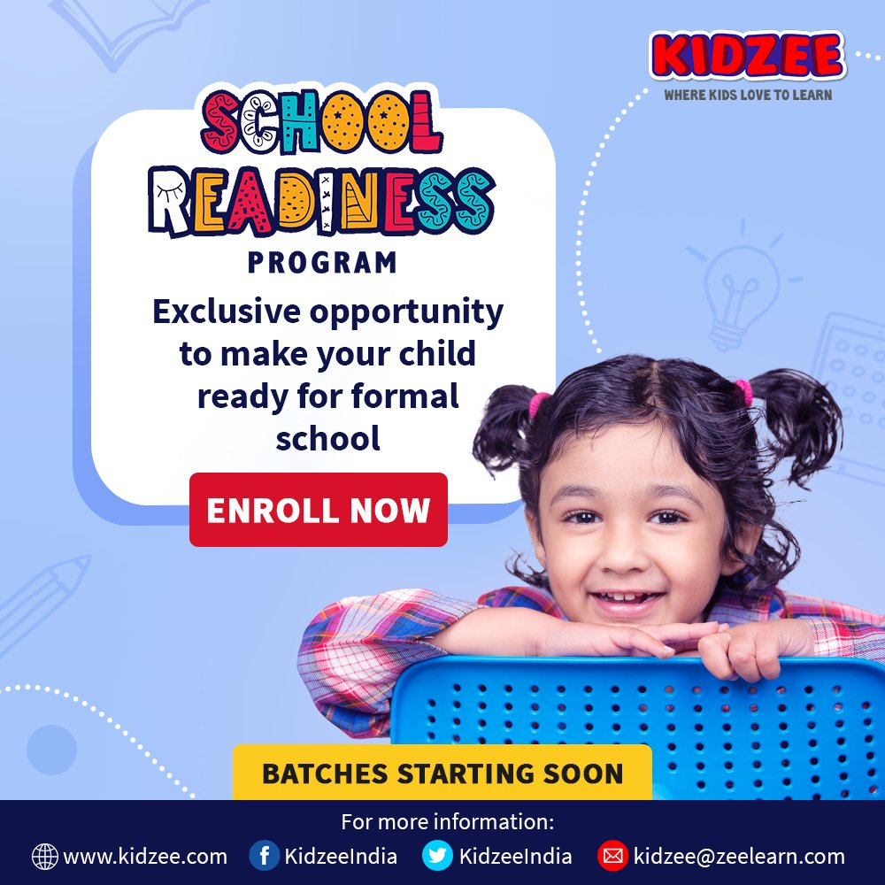 #Kidzee, a leader in Early Childhood Care & Education has set exceptional standards in providing infinite opportunities for child #development & #growth in the #education space.  Have you enrolled your child yet?  For more details, please call: 022 40343956 https://t.co/7bfSZrQSKx