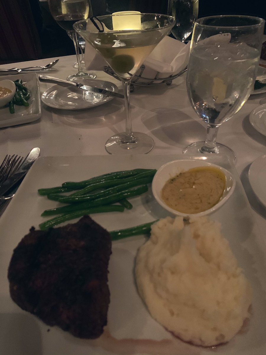 Great dinner at THE Steak House! One of my all time favs in #LasVegas!