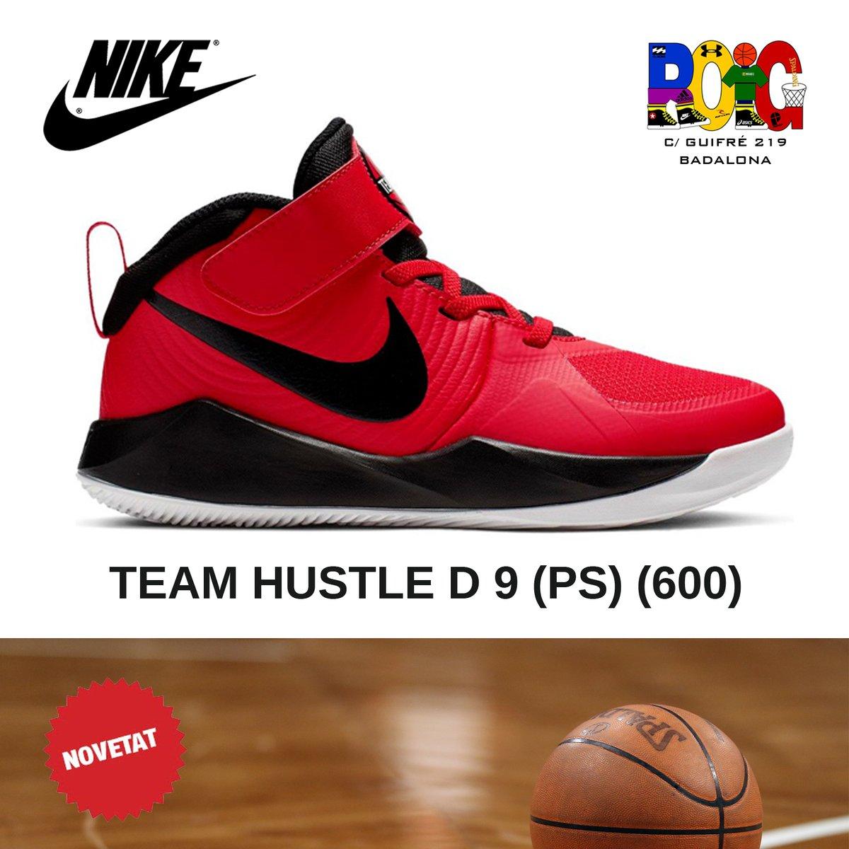 📢 NOVETATS en vambes 👟 de bàsquet 🏀️ junior: les Nike TEAM HUSTLE D 9 (PS) (600) Disponibles a la botiga o a la web 💻 en https://t.co/s4C7PKiS4n #nike #bàsquet #jordiroig #badalona https://t.co/BYjxYZJ0IS