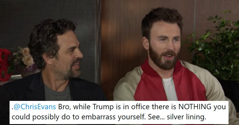 Mark Ruffalo had the best response to Chris Evans' accidental NSFW post. #Recap  https://t.co/IoebsxEhba https://t.co/bod5Nzrtej