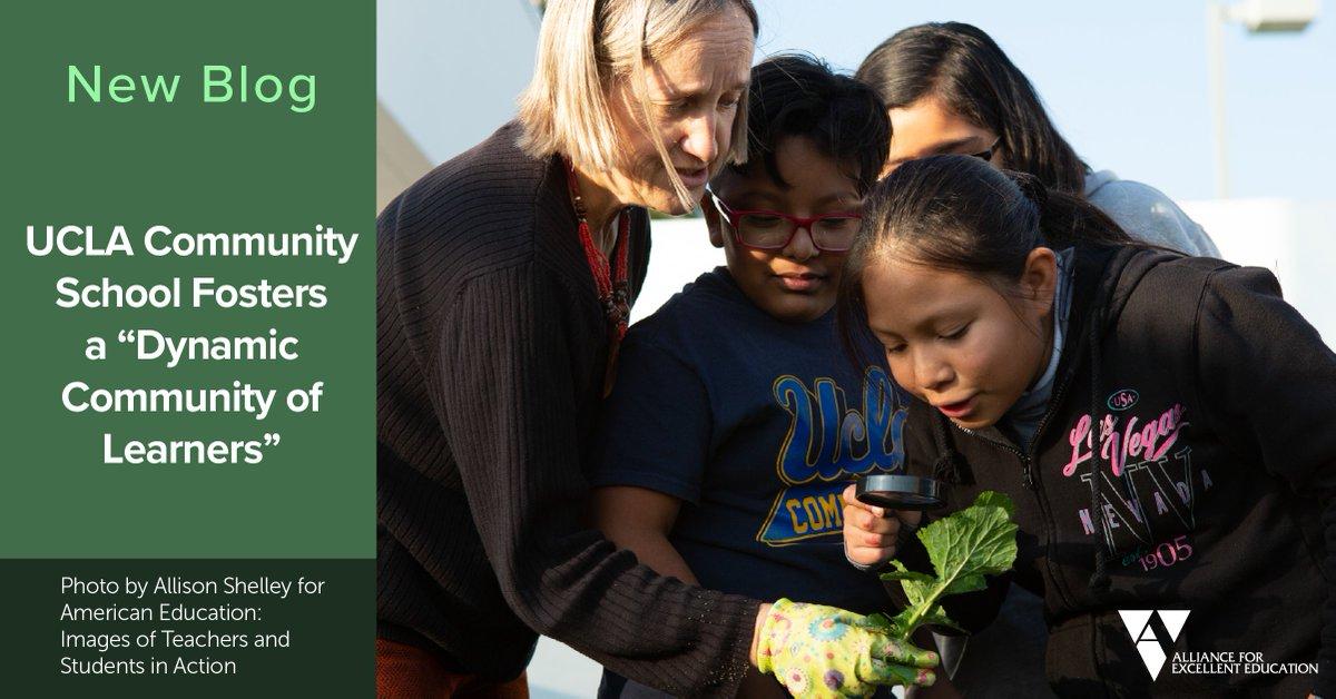 """UCLA Community School Fosters a """"Dynamic Community of Learners"""" https://t.co/SJy0Wg14zP via @All4Ed #FutureReady https://t.co/WgA9Jqyb74"""
