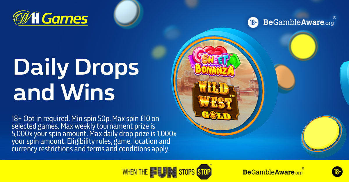 Take part in Daily Drops and Weekly Tournaments for your chance to win cash prizes.  There are 80 prizes up for grabs every day, plus, at the end of the week, the top 350 players on the leaderboard will also win a prize. Find out more – https://t.co/ye3kcldULs 18+ | terms apply https://t.co/Ksu7q3PIS0