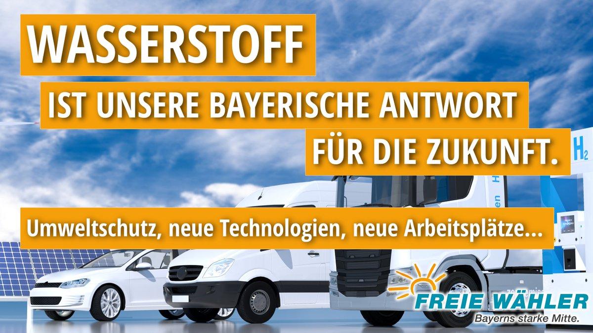 Wir #FREIEWÄHLER machen #Bayern stark‼️ Wie das Beispiel #Augsburg zeigt:  👉 Staatsregierung baut Standort massiv zum Zentrum für #KI aus. Schwerpunkt auch #Wasserstoff. UNSER #FREIEWÄHLER-Thema   👉 100 Millionen Euro werden hier fließen dank @HubertAiwanger und @BayStMWi. https://t.co/7FfQtLnj4T