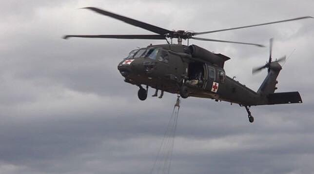 Two Blackhawk helicopters from @TheNationsFirst will conduct a flyover of the #BostonMarathon  course beginning over the official start point in #hopkinton at 10:00AM today to recognize the postponed date and honor frontline workers who battle the #COVID19 pandemic. https://t.co/tE3qbW6w9V