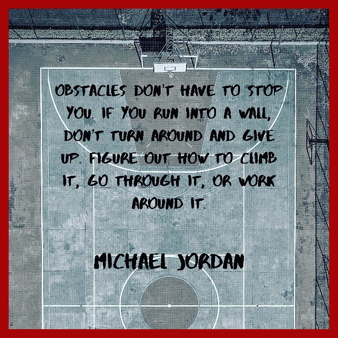 Face the obstacles, find the way to jump over, don't avoid them.   #bballerselite will help you to elevate your playing skills.  #mondaymotivation #basketballquotes #motivationalquotes #basketballengland #basketballuk #britishbasketball #englandbasketball #bristolbasketball https://t.co/o0joNlvHBv