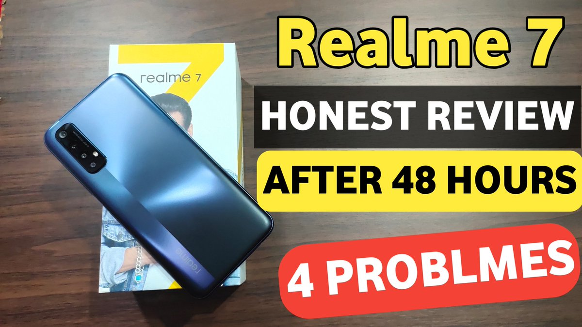 Realme 7 Honest Review After 48 Hours Of Usage | Realme 7 Vs Poco M2 Pro | Realme 7 Price 🔥🔥 https://t.co/ZFP714HXwu  #realme7 #Review https://t.co/fYlwGYm2AE