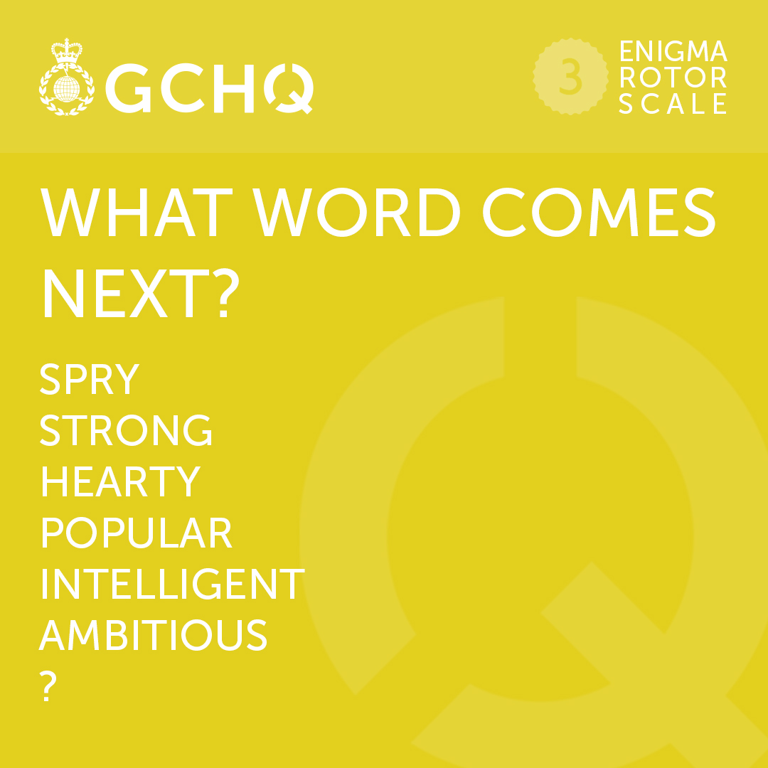 Heres your weekly dose of #MondayMotivation courtesy of the #GCHQPuzzle. Reckon you can solve this one?