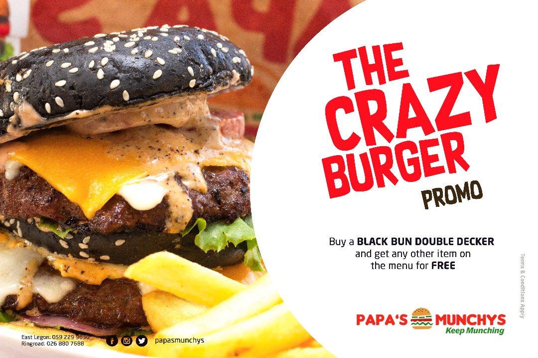 Crazy Burger Promo