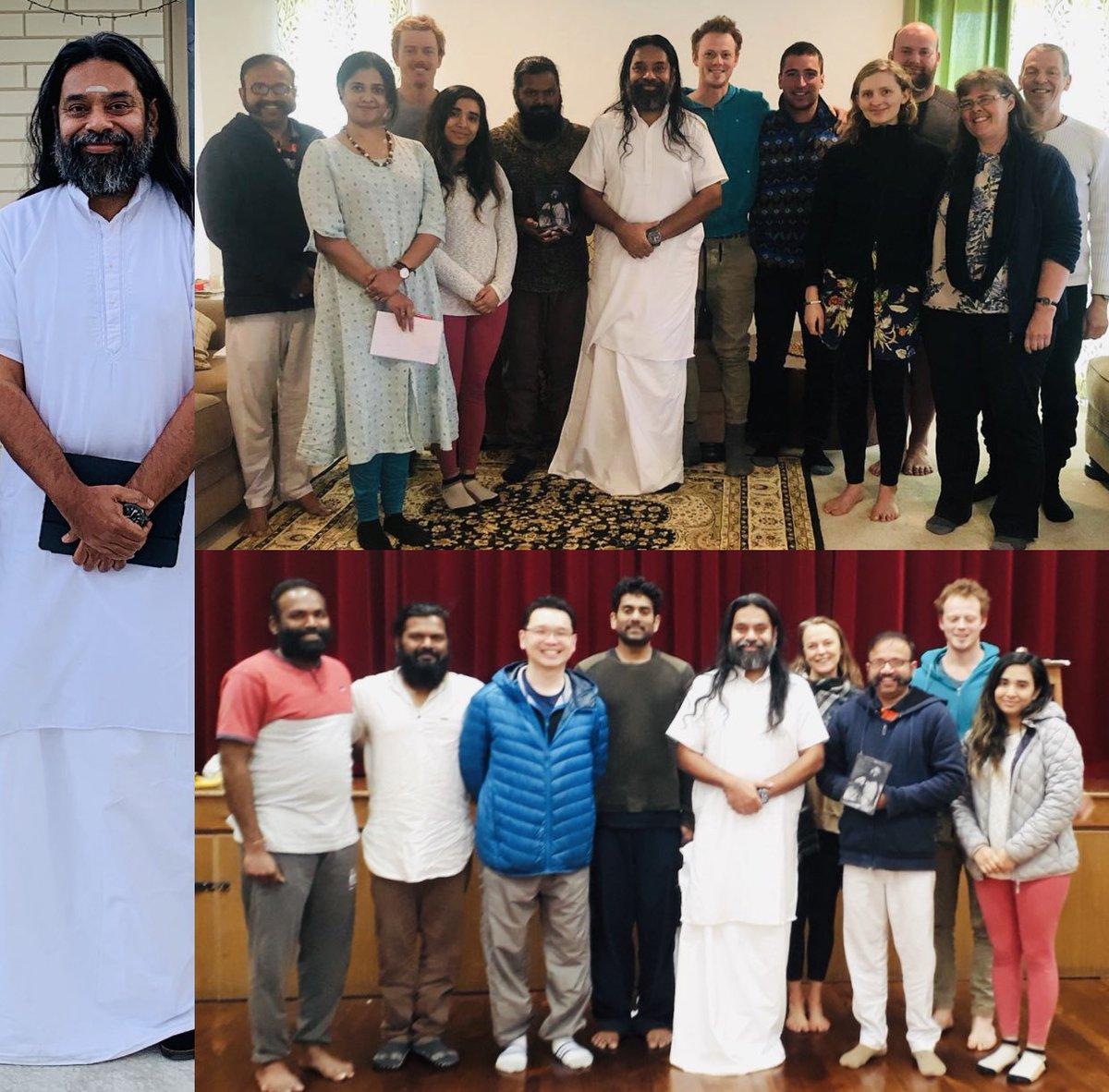 3 day SAHAJ SAMADHI MEDITATION Programme & 2 day SHAKTI KRIYA Programme concluded in Christchurch, New Zealand 🇳🇿 ( @SriSri ) #meditation #ArtOfMeditation https://t.co/19fKCi0u47