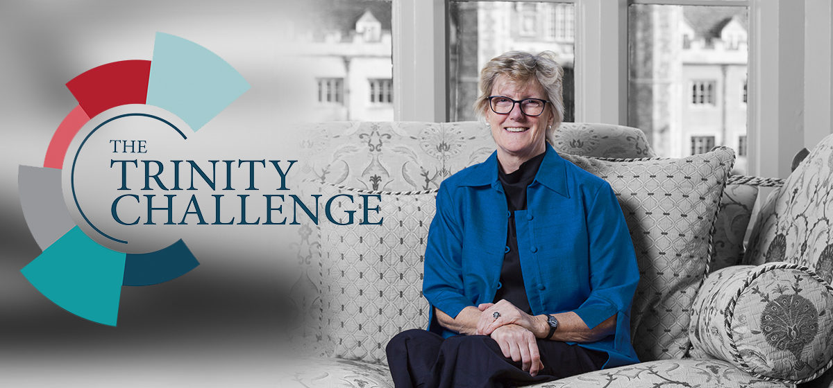 """""""The Trinity Challenge is a recognition by business and academia of the need for new, breakthrough ideas and approaches to beat future pandemics.""""   Dame Sally Davies launches #TheTrinityChallenge to harness the potential of data and analytics https://t.co/XNZJF1nNfP https://t.co/1K9uUGHQtE"""