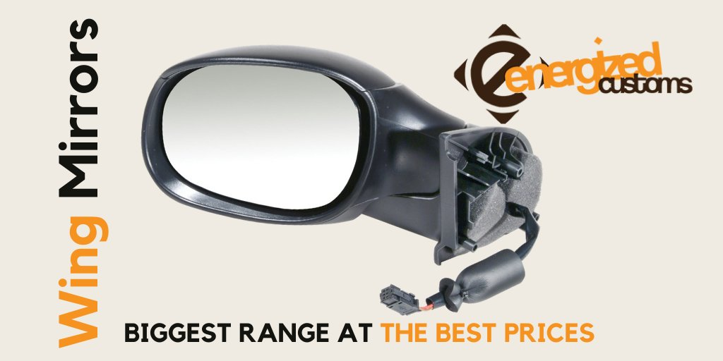Get your new wing mirror today! https://t.co/4RqXeX7XDK #energizedcustoms #wingmirror #carparts #vehicleparts #autoparts https://t.co/rHrTDhQasC