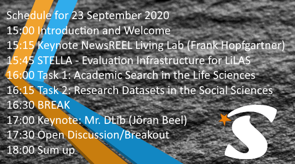 Still time to register for free @clef_initiative 2020 https://t.co/XRnq8dWrPS and join⭐️LiLAS workshop https://t.co/O3jDBJGIMo⭐️on Information Retrieval and Recommendation Systems @ZB_MED @gesis_org @th_koeln @FTHopf @JoeranBeel @phschaer  @WanjaSchaible https://t.co/pfgJevyml1 https://t.co/5s6L681bec
