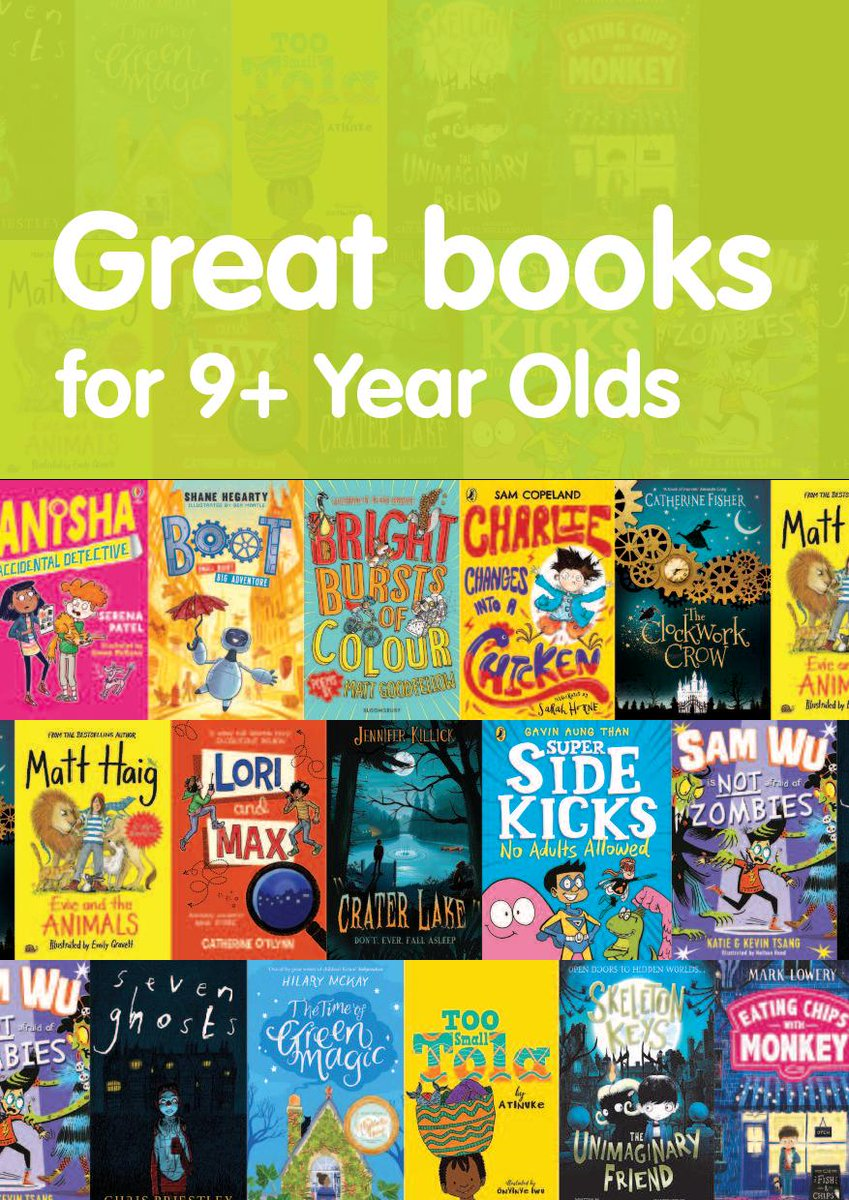 We are so excited to be part of this fantastic initiative again this year alongside  @leicesterlibrar and @MidlandsCLS   A fabulous selection of books again this year, set to inspire and entertain Year 5/6 pupils!