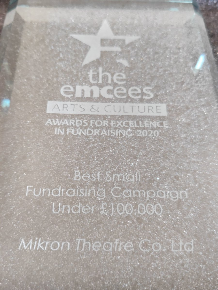 Brilliant award. And some kudos to the clever @r0b_shaw @