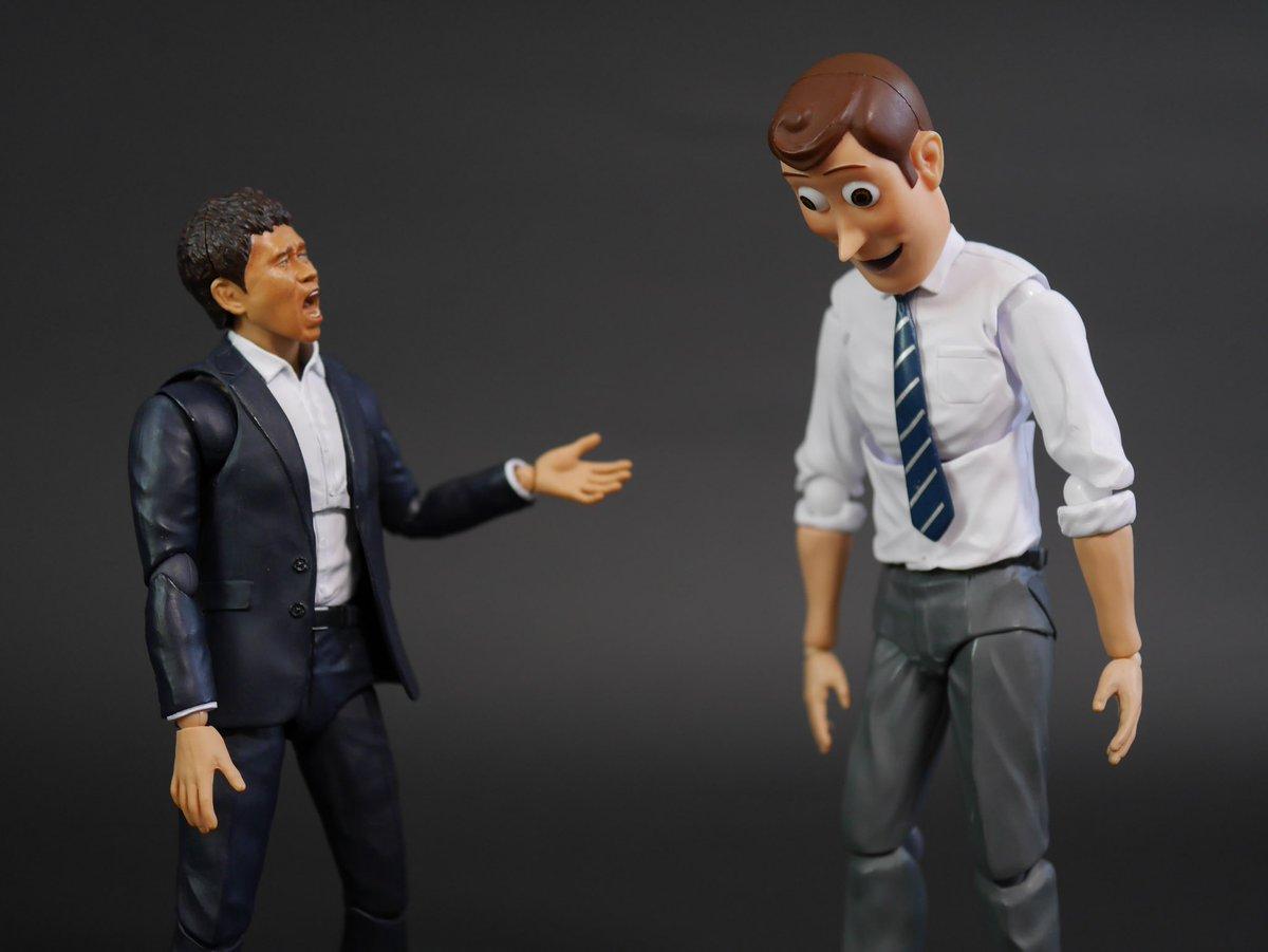 上司に怒られ過ぎてどんな顔をしたらいいのか分からなくなってるウッディ