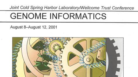 #GI2020 starts today! We're celebrating 20 years of Genome Informatics this week with over 350 participants from 42 countries.   Please use the hashtag #GI2020 when discussing highlights from the meeting.  Here's a throwback of our 2001 #GenomeInformatics abstract book👇 https://t.co/NL9YQiwZ5n