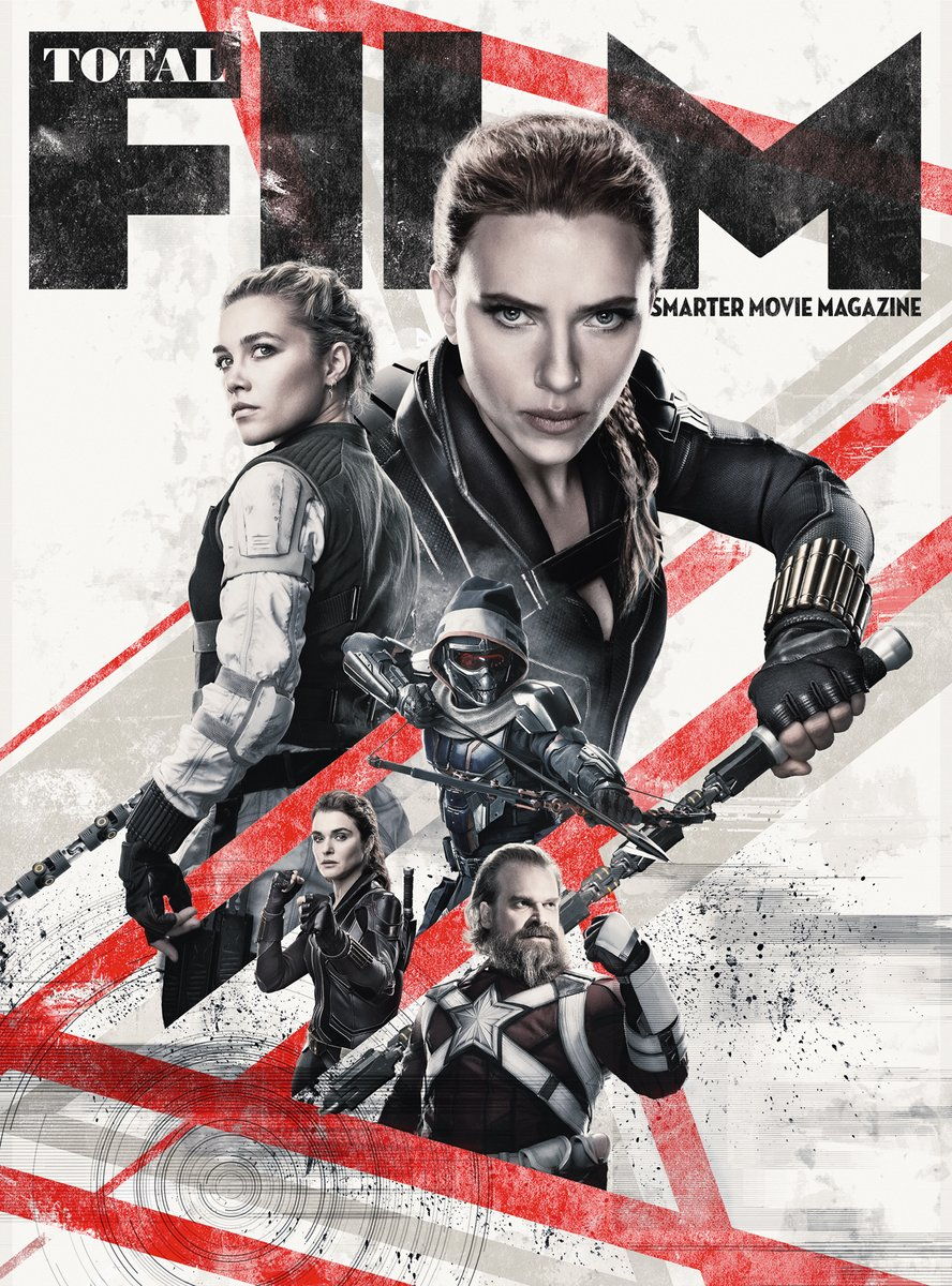 Check out the brand new @totalfilm subscriber cover for Marvel Studios' #BlackWidow!